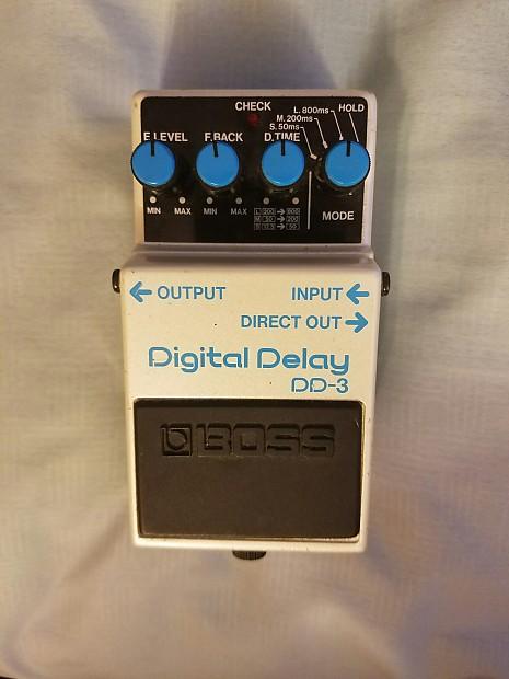 Boss DD-3 Digital Delay MIJ Made in Japan