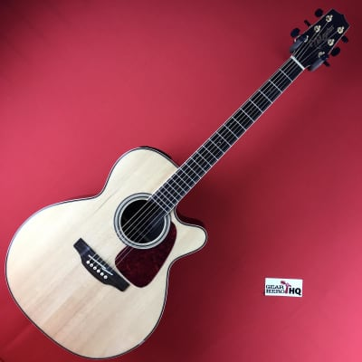 [USED] Takamine GN93CE-NAT Nex Cutaway Acoustic-Electric Guitar, Natural (See Description).
