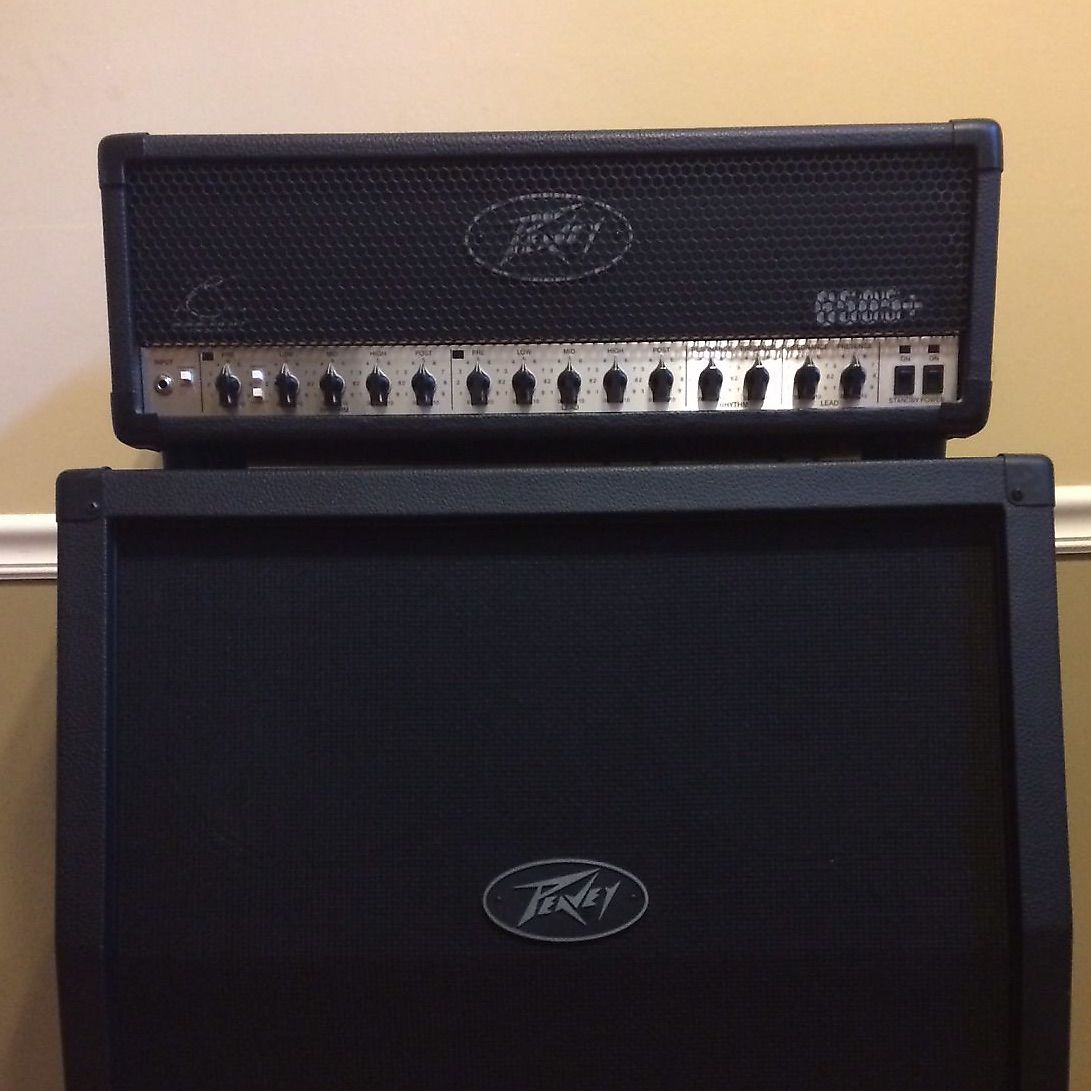 peavey 6505 120 watt 4x12 guitar half stack reverb. Black Bedroom Furniture Sets. Home Design Ideas