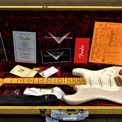 Fender Stratocaster 1957 Mary Kaye NOS Gold Hardware Aged White Blonde for sale