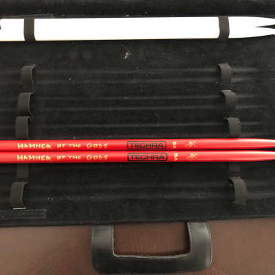 Techra Hammer of the Gods 5A Red Carbon Fiber brand new