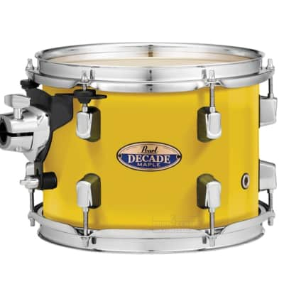 """Pearl Decade Maple 12""""x8"""" Tom - Solid Yellow"""
