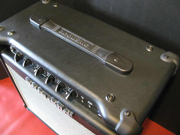 near mint acoustic g20 lead series guitar amp 20 watts rms reverb. Black Bedroom Furniture Sets. Home Design Ideas