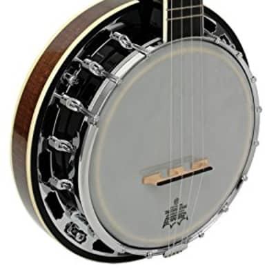 Gold Tone Banjolele-DLX Concert-Scale Banjo Ukulele Deluxe w/ Bag