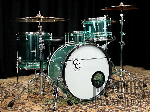 c c custom acrylic drum set 22 13 16 14 coke bottle reverb. Black Bedroom Furniture Sets. Home Design Ideas