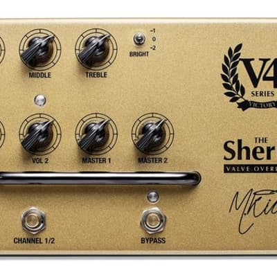 Victory V4 Sheriff Preamp Pedal