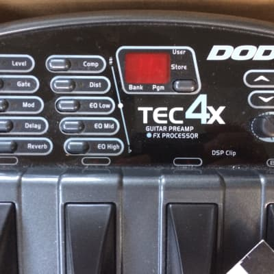 DOD TEC4X Guitar Preamp FX Processor 1998 for sale