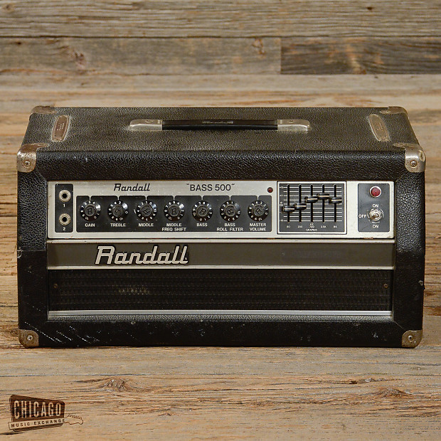 Randall Bass 500 Solid State Bass Amp Head USED
