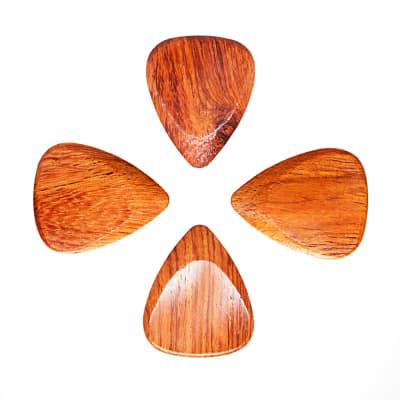 Timber Tones Bloodwood 4 Guitar Picks