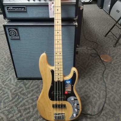 FENDER  Elite series Precision bass  Natural Maple for sale