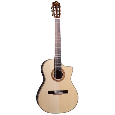Guitare Electro Classique Crossover MARTINEZ MP14-RS Epicéa Massif / Rosewood + Gigbag for sale