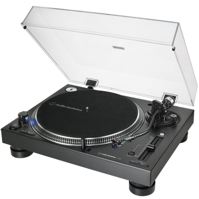 Audio Technica AT-LP140XP Direct-Drive Professional Turntable - Black