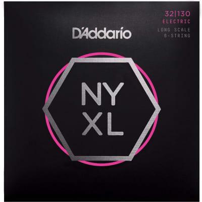D'Addario NYXL32130 6-String Bass