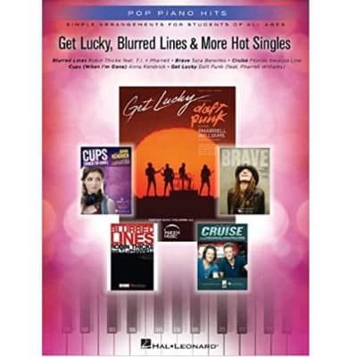 Get Lucky, Blurred Lines & More Hot Singles: Simple Arrangements for Students of All Ages - Pop Piano Hits