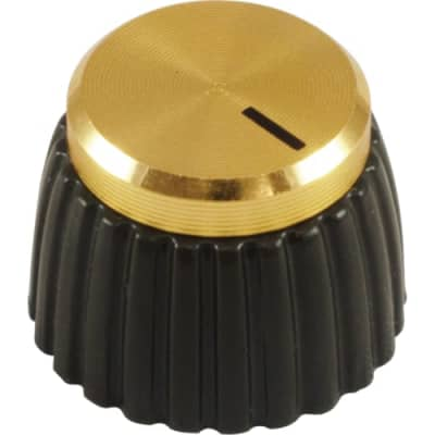 Marshall Knob with Hex Set Screw for Solid Shaft Pots JMP JCM800-900