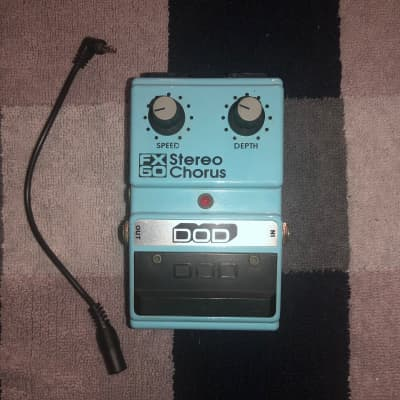DOD Stereo Chorus FX60 w/ modern adaptor for sale
