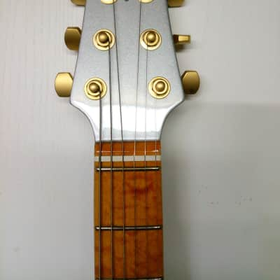 BURNS Marquee Club Series Guitar 1 of 1 Prototype NOS 2000 silver for sale