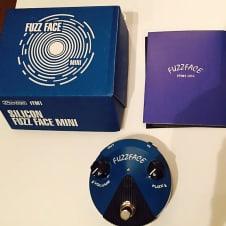 Dunlop Silicon Fuzz Face Mini FFM1 Blue