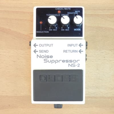 1987 Boss NS-2 Noise Suppressor - Noise Gate/Reduction - MIJ Guitar Effects Pedal - Excellent Cond.