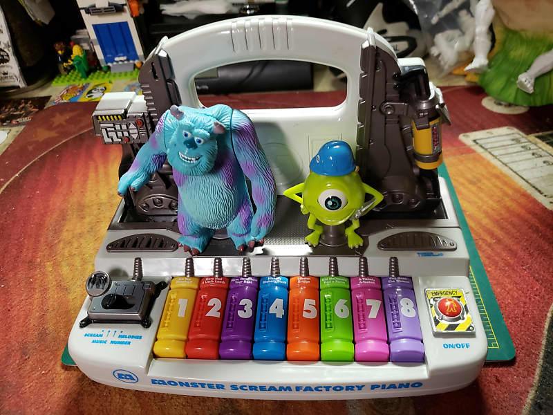 Tiger Pixar Monster Scream Factory Piano Keyboard Screaming & Laughing  Sounds, Good Circuit Bender!