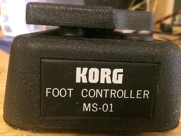 Korg MS-01 Foot Controller vintage made in Japan Works
