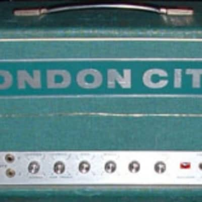 London City MK V 1971 Green Tolex Marshall Superlead Vintage Copy for sale