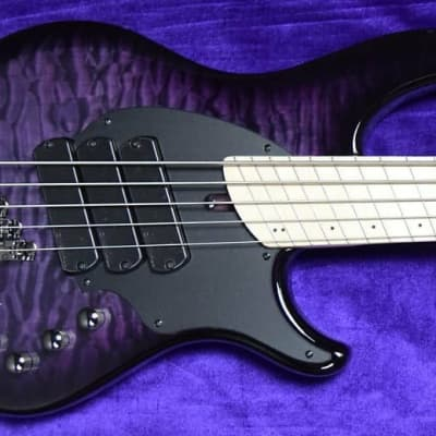 Dingwall Combustion 3 Pickup (5), LTD 10th Ann. Amethyst Burst/Maple *In Stock, Factory Flaw=Save $!