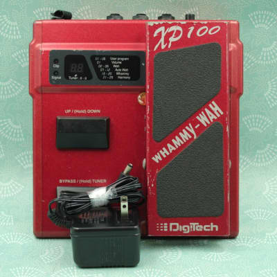Digitech XP-100 Whammy Wah Pitch Shifter With Adapter 10059 for sale