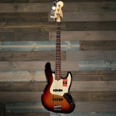 Fender American Pro Jazz Bass®, Rosewood Fingerboard, 3-Color Sunburst S/N US18083642 for sale