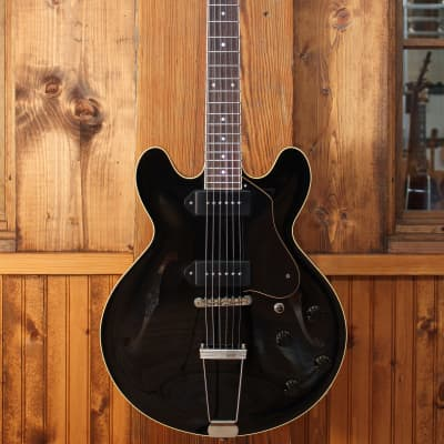 Collings I30 LC w/ Aged Jet Black Finish & Lollar Dog Ear P90s for sale