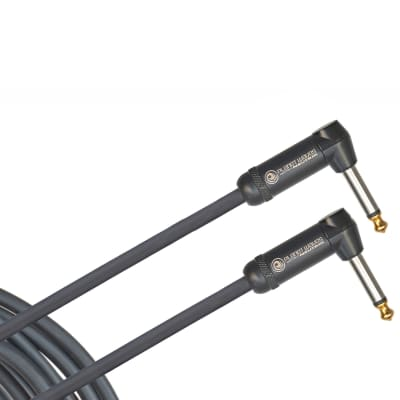 """Planet Waves PW-AMSGRR-20 American Stage 1/4"""" TS Dual Right-Angle Instrument Cable 20'"""