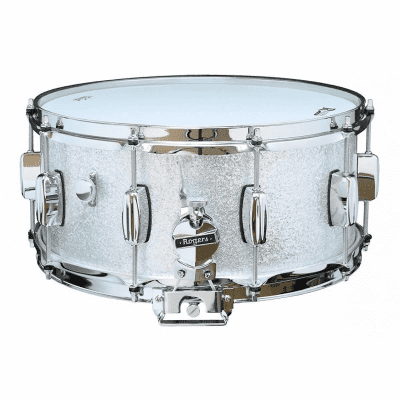 "Rogers #33 Dyna-Sonic 6.5x14"" Wood Snare Drum with Bread and Butter Lugs Reissue"