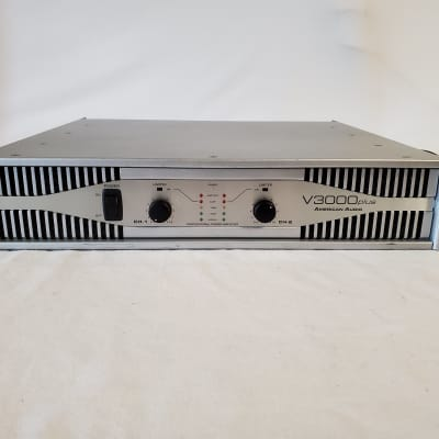 American Audio V3000PLUS Professional Power Amplifier - Great Used Condition - Works Perfectly -