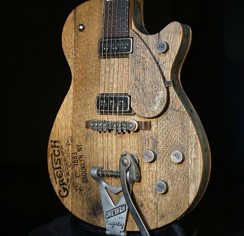 gretsch usa custom shop nashville whiskey barrel guitar reverb. Black Bedroom Furniture Sets. Home Design Ideas