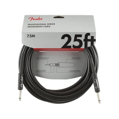 NEW Fender Professional Series Cable - 25'