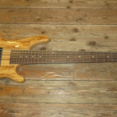 New Dillion USA Custom Shop Active 6 String Bass w/ Case Neck Thru for sale