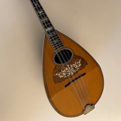 Antique Leland Bowlback Mandolin, Late 1800's for sale