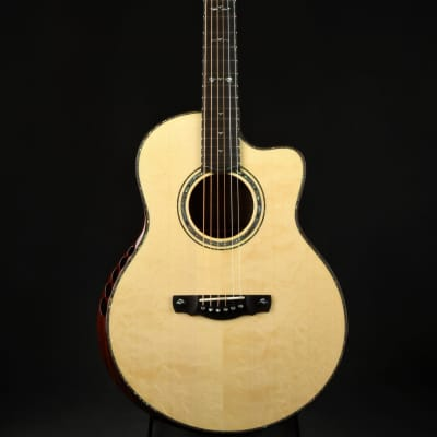 Ryan Grand Concert - Bearclaw Engelmann/Beeswing Mahogany/NAMM Instrument for sale