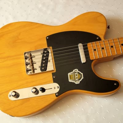 Fender  Telecaster TL 52 RE Texas Special Pickups 2016 Natural for sale