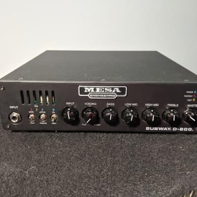 Mesa Boogie Subway D-800 Lightweight 800-Watt Bass Amp Head