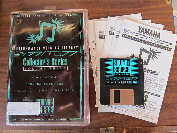 Sound Source Unlimited - Yamaha SY77/TG77 Collector's Series Volume Three