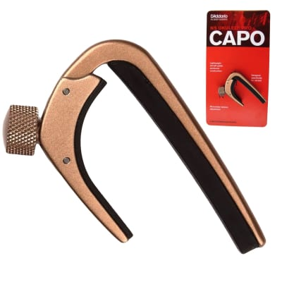 Planet Waves NS Pro Capo for Electric or Acoustic Guitar - Metallic Bronze