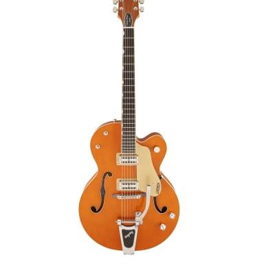 Gretsch G6120SSL Brian Setzer Nashville with TV Jones Pickups Vintage Orange for sale