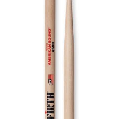 Vic Firth American Sound 8D Round Tip Drum Sticks