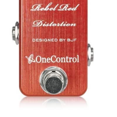 One Control   BJF Rebel Red Distortion