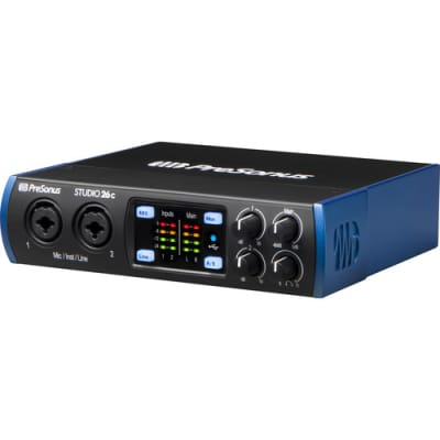 PreSonus Studio 26c 2x4 Ultra-High Definition USB-C Audio/MIDI Interface