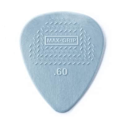 Dunlop 449P .60mm Max-Grip Nylon Standard Guitar Picks (12-Pack)