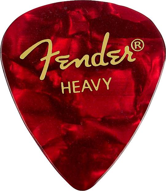 Fender Teardrop Pick : Fender premium celluloid guitar picks pack heavy