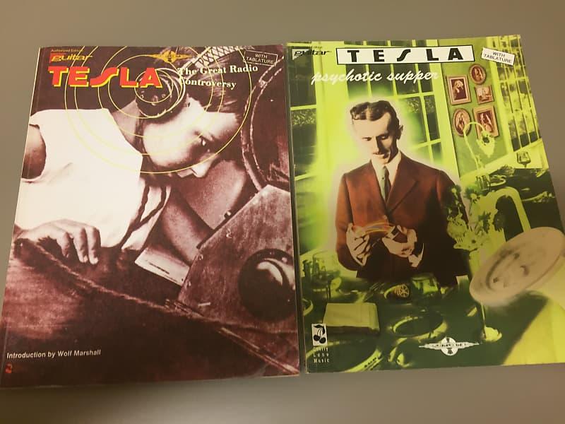 Tesla Vintage Tab Book Collection The Roadie Rag
