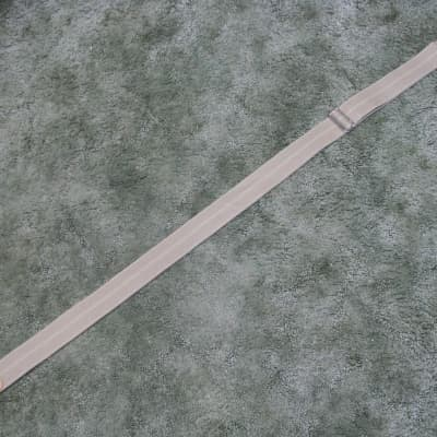 """Fender Logoed 2"""" Canvas Guitar Strap with Sandwiched leather Tabs and Metal Buck"""